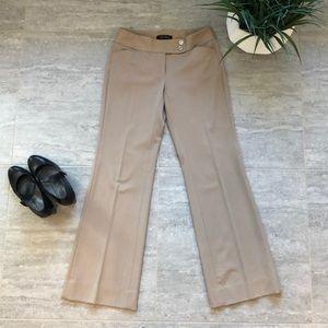 White House Black Market Tan Trouser